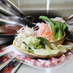 しゃぶしゃぶの作り方、安い薄切り牛肉を使って極旨肉にする調理法