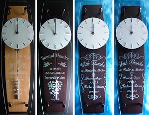 振り子時計 結婚式