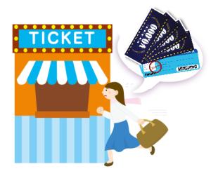卒業旅行 USJ チケット