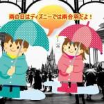 雨の日のディズニーの服装は雨合羽!子連れでの楽しみ方は?