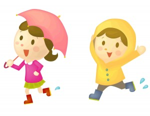 雨の日 ディズニー