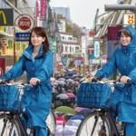雨合羽で自転車でも蒸れない対策は?フードのかぶり方とメンテナンス