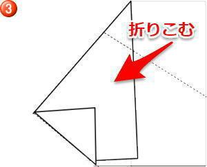 のし 内包み折り方3