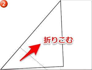 のし 内包み折り方2