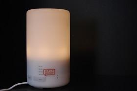 ライトは強弱OFFと切り替わります。
