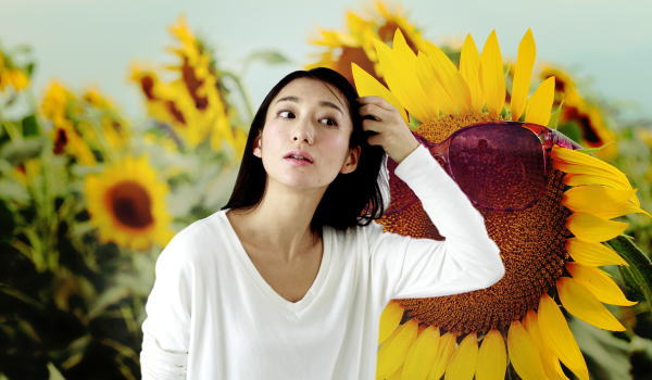 夏 髪 紫外線対策