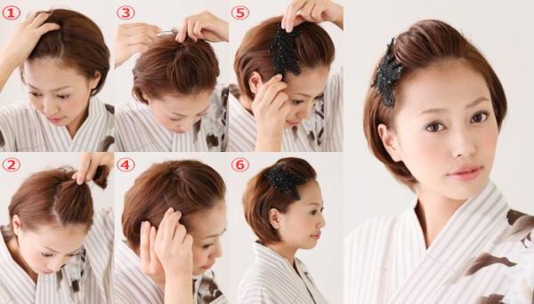 髪型 ショート 七五三1
