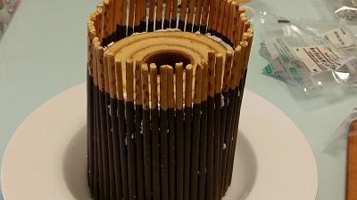 ポッキーケーキのレシピ8