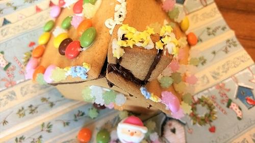 お菓子の家 デコレーション 屋根