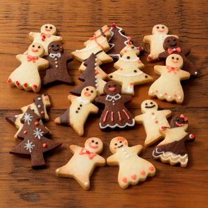 無印 クリスマス型抜きクッキー