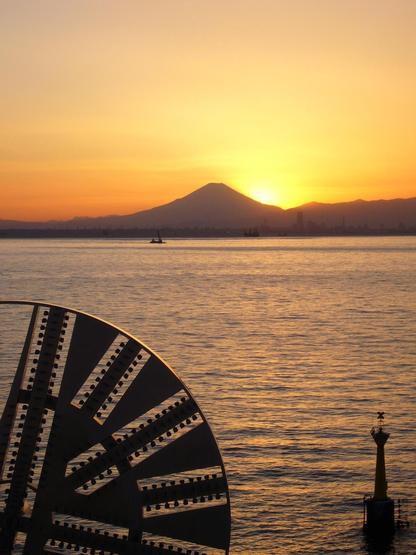 海ほたる 落陽
