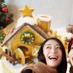 クリスマスの女子会 おすすめプラン!お菓子の家やケーキを家で手作り