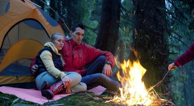 キャンプ バーベキューコンロ 焚き火
