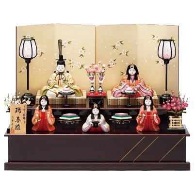 雛人形 収納飾り 二段飾り