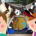 キャンプでテントの虫よけは?おすすめアイデアやスクリーンはこれ!