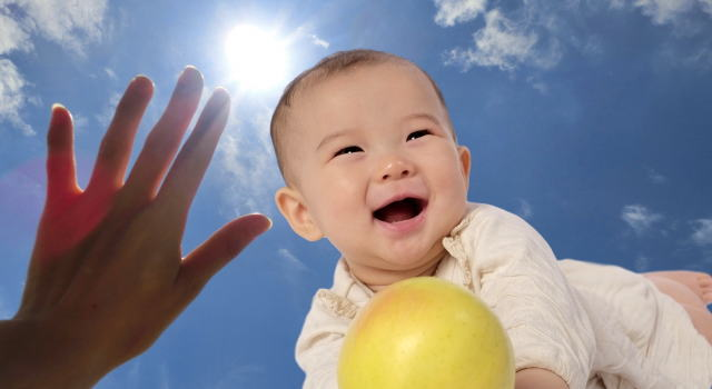 ベビー 紫外線対策 暑さ対策